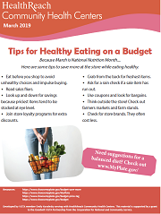 Healthly Eating on a Budget